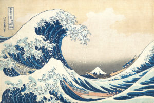 La grande vague Hokusai