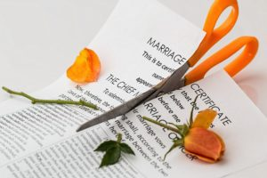 divorce et dépression