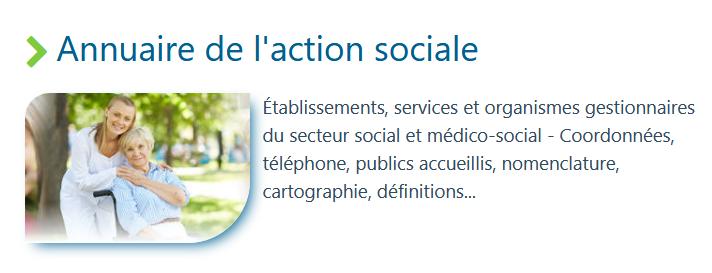 Annuaire médico-social France