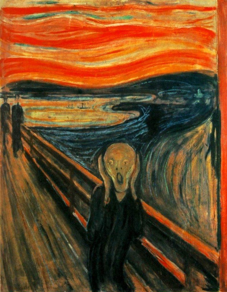 Le Cri, d'Edgar Munch, 1893